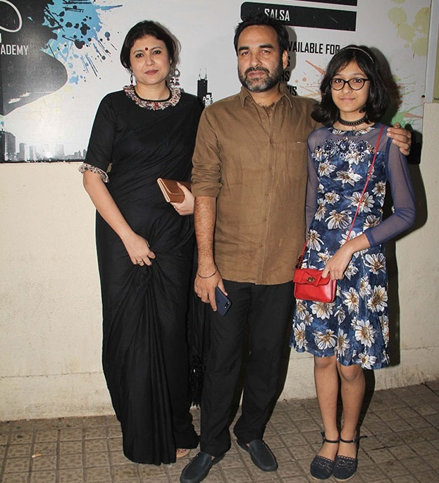 Pankaj Tripathi Family