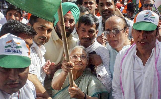 Sheila Dikshit elections