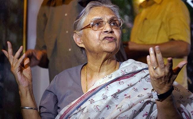 Sheila Dikshit Controversies